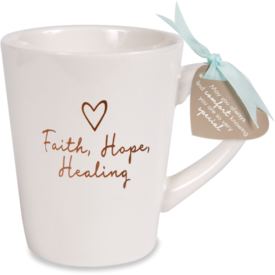 Faith Hope Healing by Comfort Collection - Faith Hope Healing - 15 oz Cup