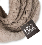 Soft Beige by H2Z Scarves - Package