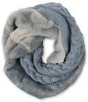 Cadet Blue by H2Z Scarves - Alt