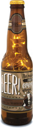 Beer by Wine All The Time - 16 oz Beer Bottle Lantern