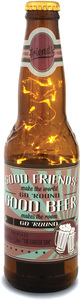 Friends by Wine All The Time - 16 oz Beer Bottle Lantern