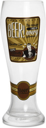 Beer by Wine All The Time - 23oz Pilsner Beer Glass