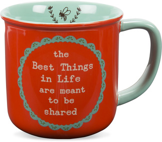 The Best Things in Life by Live Simply by Amylee - 14 oz Ceramic Mug