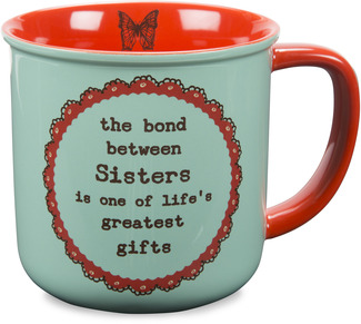 Sister by Live Simply by Amylee - 14 oz Ceramic Mug