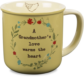 Grandmother by Live Simply by Amylee - 14 oz Ceramic Mug