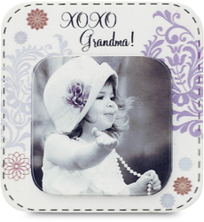 "Grandma by Candidly...LOL - 2.75"" x 2.75"" Magnet"