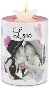 "Love by Candidly...LOL - 4"" Tea Light Holder"