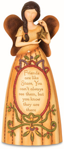 "Friends by Country Soul - 7.5"" Angel Holding Star"