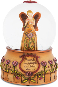 Friends by Country Soul - 100mm Musical Water Globe
