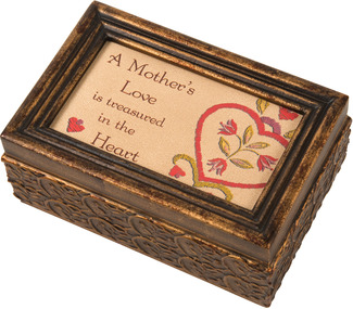 "A Mother's Love by Country Soul - 6""x4""x2.75"" Music Box"