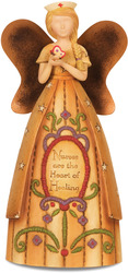 "Nurse by Country Soul - 6"" Angel holding Butterfly"