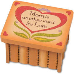 "Mom by Country Soul - 2.5""x2""x1.5"" Keesake Box"