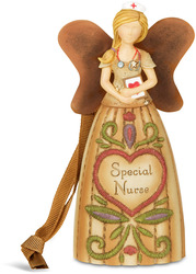 "Nurse by Country Soul - 4.5"" Angel Ornament"