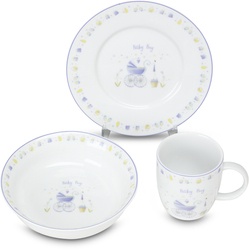 Boy Gift Set by Sweet Petite - (bowl/plate/cup)