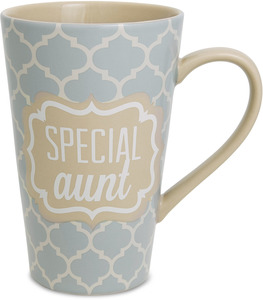 Aunt by Radiant Reflections - 18oz. Latte Mug