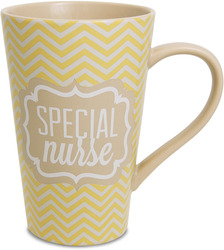 Nurse by Radiant Reflections - 18oz. Latte Mug