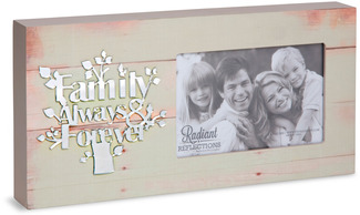 "Family by Radiant Reflections - 5.75"" x 11.75"" Frame (Holds 4"" x 6"" Photo)"