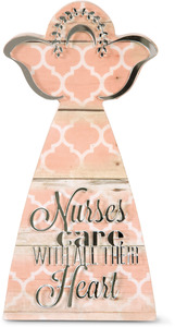 "Nurse by Radiant Reflections - 7"" Angel Plaque"