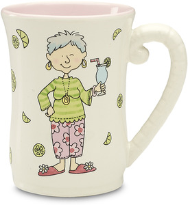 "The Retirement Plan (female) by Well Seasoned - 4.5"" Mug"