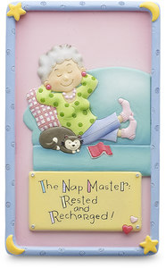 "Nap Master by Well Seasoned - 5"" Block"