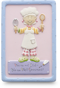"Well Seasoned by Well Seasoned - 3"" Magnet"