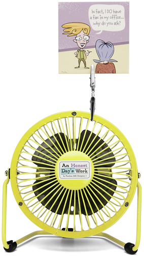 "In fact I DO by An Honest Day's Work - In fact I DO - 4"" Fan"