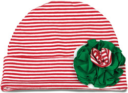 Peppermint by Itty Bitty & Pretty - Flower Hat 12-36 Months