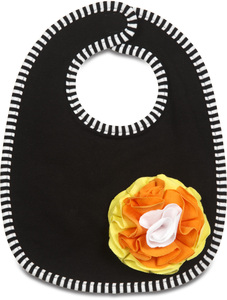 Candy Corn by Itty Bitty & Pretty - Baby Bib (One Size)