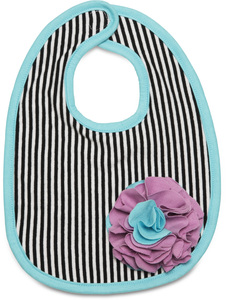 Jazzy Gem by Itty Bitty & Pretty - Baby Bib (One Size)