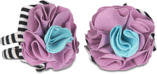 Jazzy Gem by Itty Bitty & Pretty - Barefoot Booties (0-6 Months)