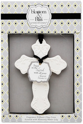 "Trust in the Lord - Water Lily Scent by Blossom & Bliss - 3"" x 4.25"" Fragrance Diffuser"