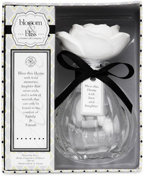 "Bless this Home by Blossom & Bliss - 5.5""x4.5"" Bottle Diffuser"
