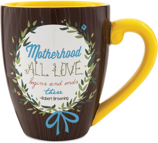 Mother by Words to Breathe By - 20 oz Cup