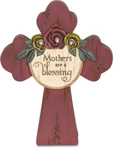 "Mother by Simple Spirits - 5"" x 4"" Self Standing Cross"