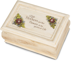 "Mother by Simple Spirits - 4""x6""x2.5"" Music Box"