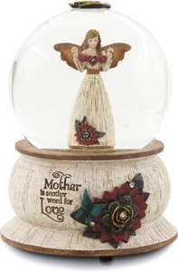 Mother by Simple Spirits - 100MM Musical Water Globe