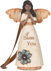 "EBN Bless You by Simple Spirits - 4.5"" EBN Bless You Angel Ornament"