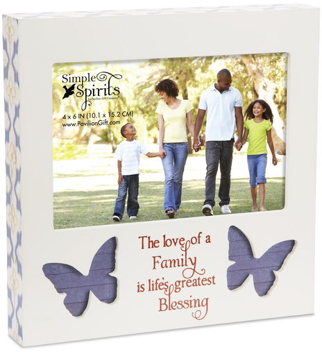 Family 7 Frame Holds 6 X 4 Photo Simple Spirits Pavilion