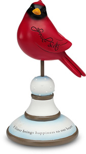 "Special Sister by Really Red - 7.5"" Decorative Bird Finial"