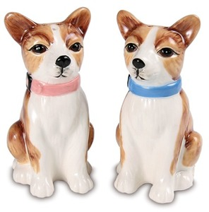 Peanut & Chai - Chihuahuas by Rescue Me Now - Dog Salt & Pepper Shaker Set