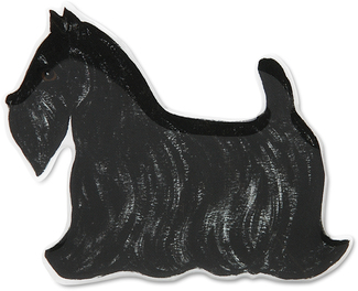 "Frankie - Scottie by Rescue Me Now - 3""x 3.5"" Magnet"