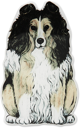 "Lexi - Collie by Rescue Me Now - 3""x 2"" Magnet"
