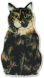 "MaryBeth - Tortoiseshell by Rescue Me Now - 3""x1.5"" Magnet"