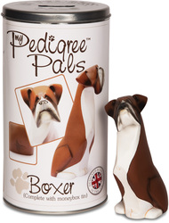"Boxer by My Pedigree Pals - 5.75"" Dog Figurine/Coin Bank"