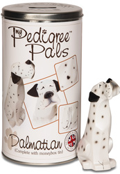 "Dalmatian by My Pedigree Pals - 5.5"" Dog  Figurine/Coin Bank"