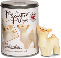 "Chihuahua by My Pedigree Pals - 3.5"" Dog  Figurine/Coin Bank"