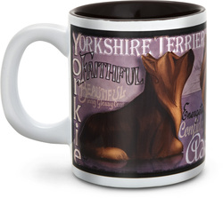 "Yorkshire Terrier by My Pedigree Pals - 4"" - 12oz. Mug"
