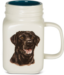 Black Lab by Waggy Dogz - 21 oz Mug