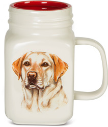 Yellow Lab by Waggy Dogz - 21 oz Mug