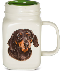 Dachshund by Waggy Dogz - 21 oz Mug
